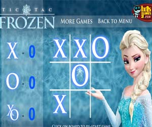 Игра крестики нолики для девочек